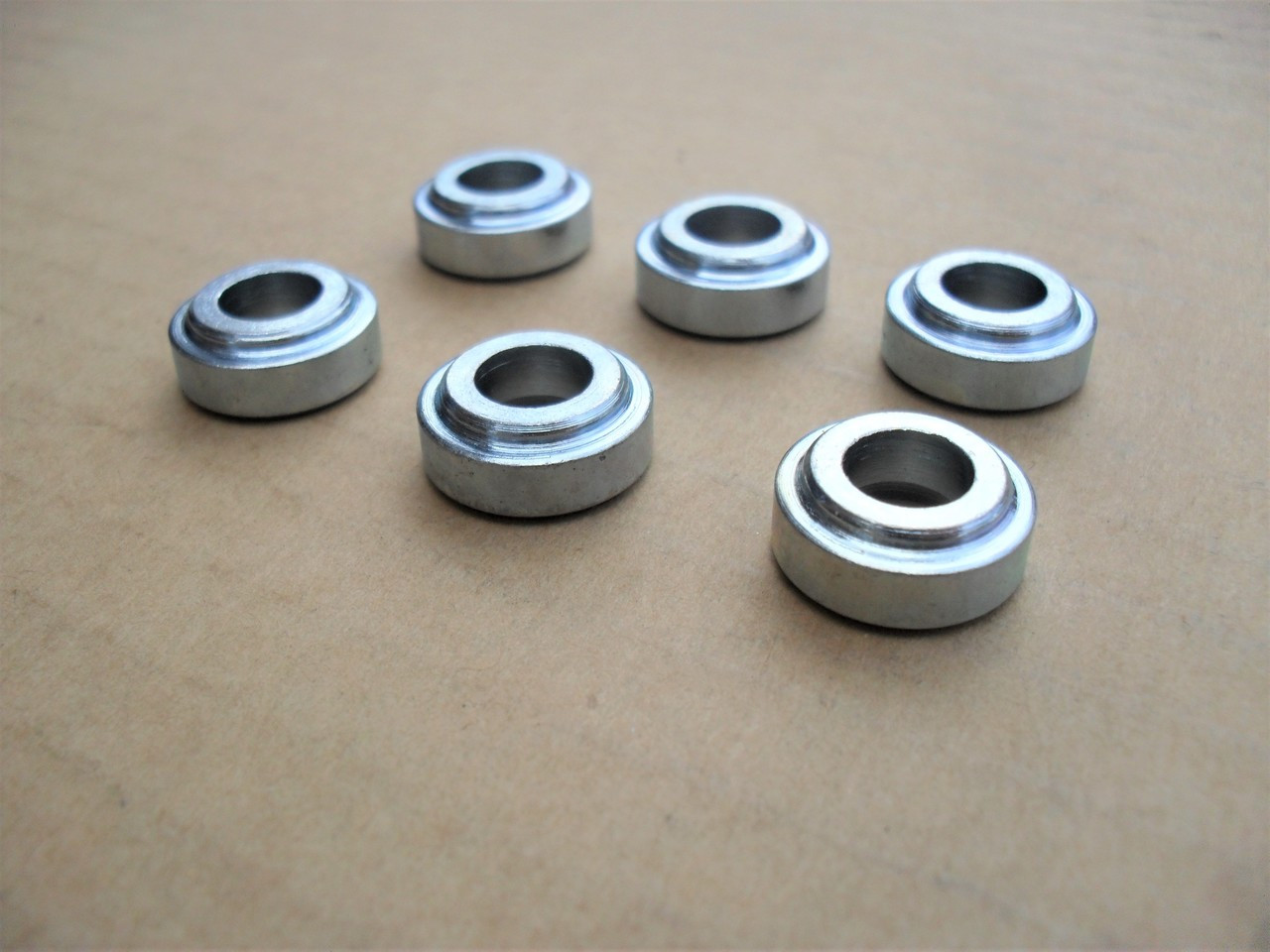 6 Reel and Bedknife Bushings for Craftsman and Mclane Reel Tiff Mower 1106  for mounting bolts, bushing, spacer, spacers