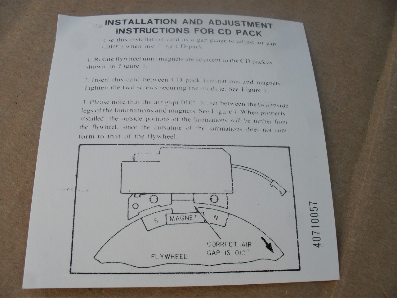 Ignition Module Coil for Lawn Boy 681578, 682340 Lawnboy CD Pack