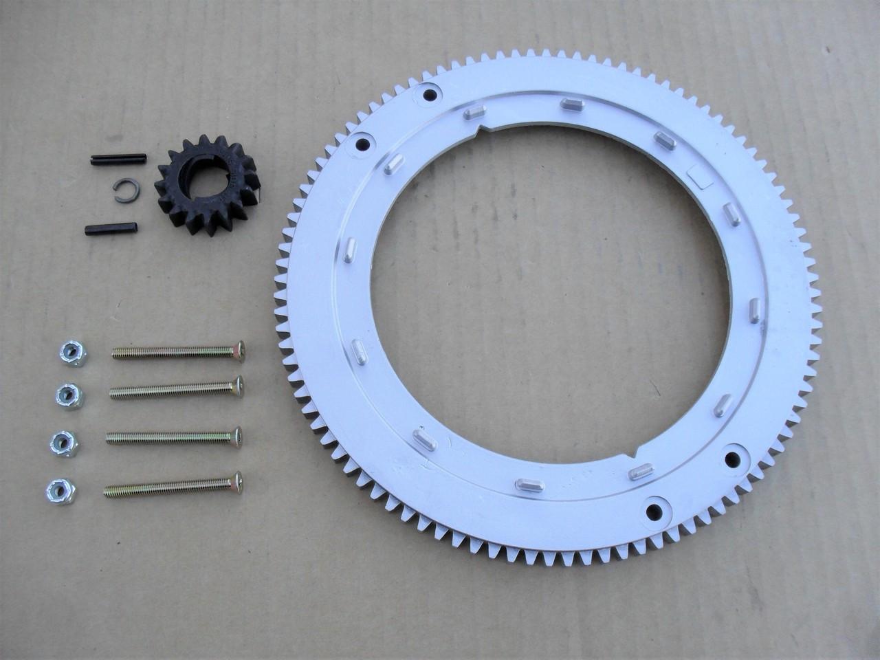 Starter Flywheel Ring Gear Kit WESTWOOD /& COUNTAX RIDE ON Lawn Tractors