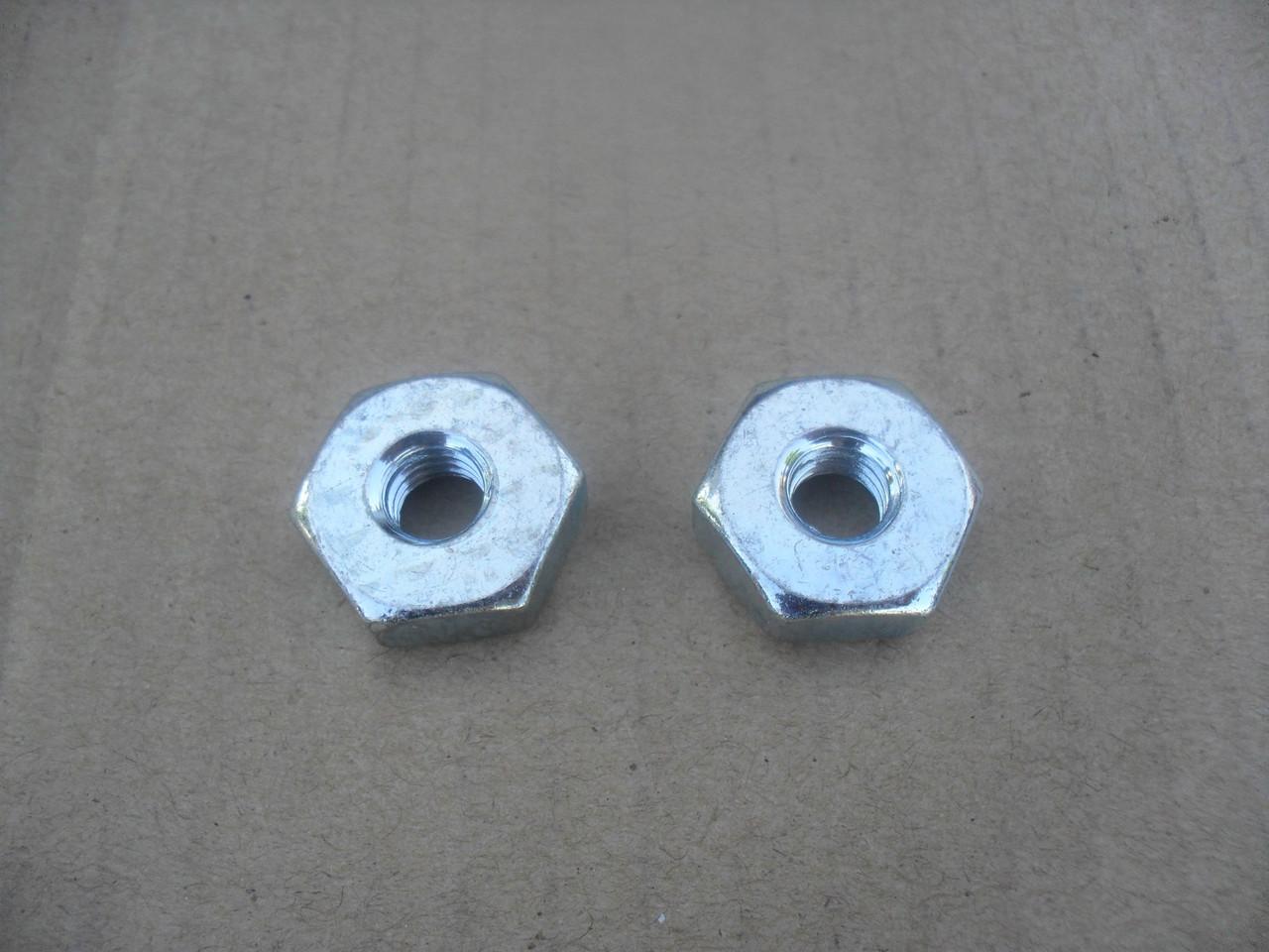 Bar Nuts for Stihl 028AV, 032AV, 034AV, 041AV, 042AV, 045AV, 00009550801,  0000 955 0801 Set of 2, chainsaw chain saw