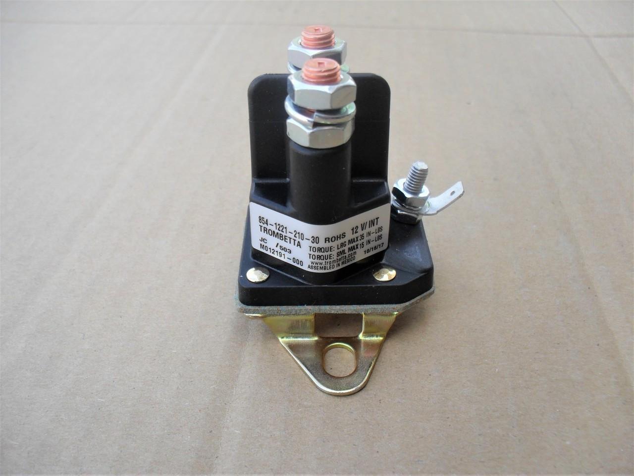 Solenoids zt truck parts Starter Solenoid 435-032 Fit for John ...
