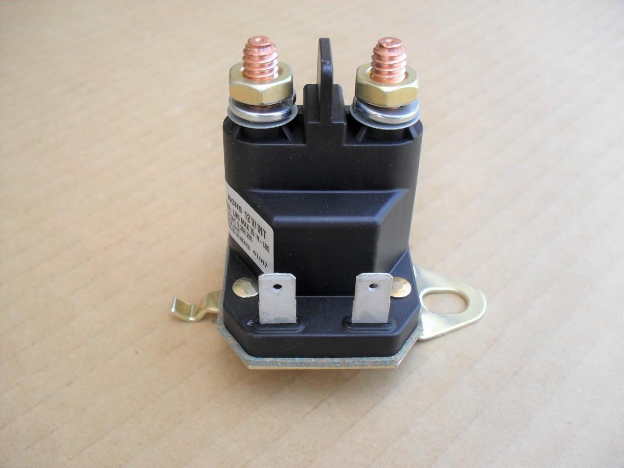 Universal starter solenoid; Craftsman Poulan 146154,