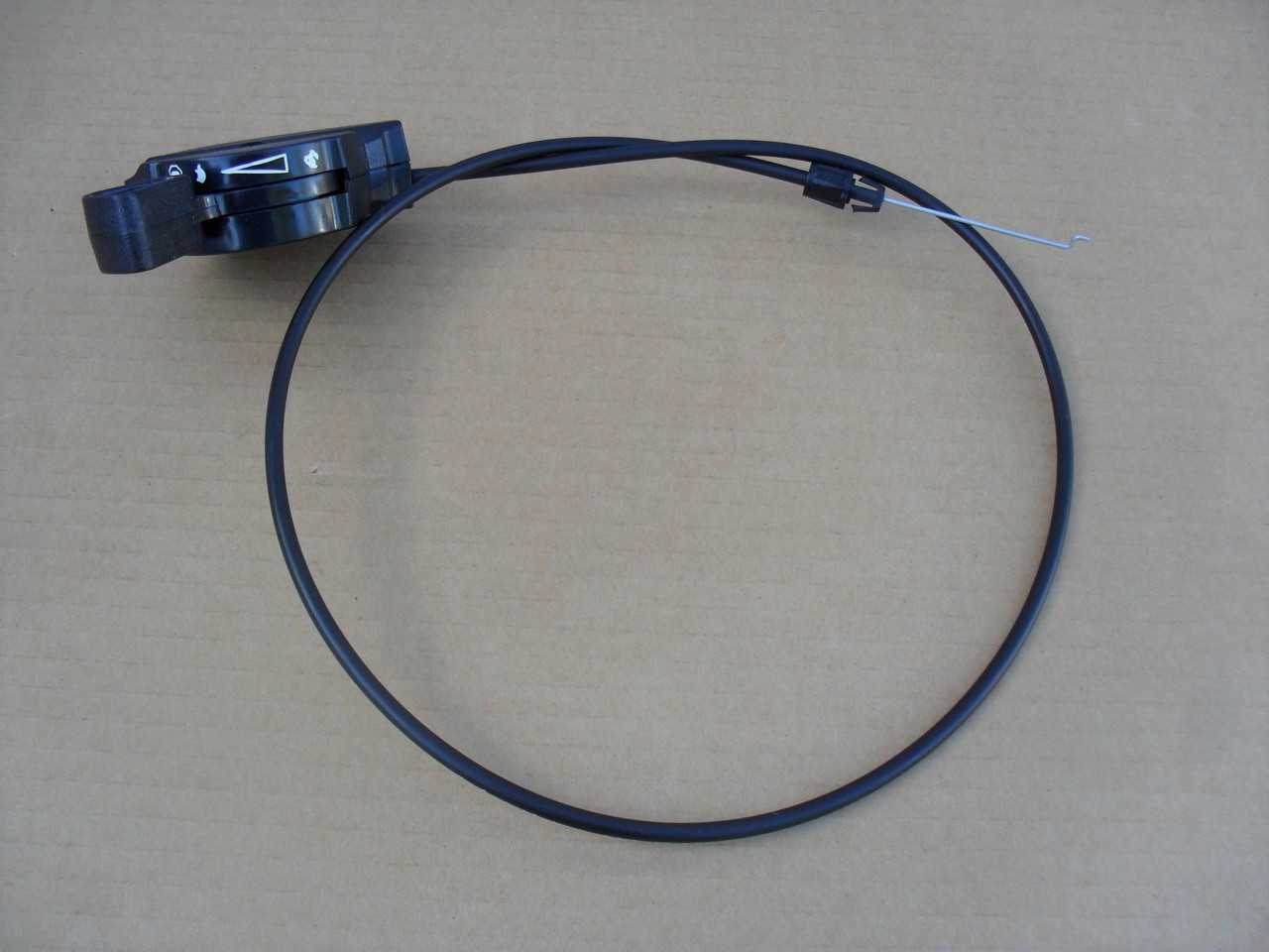 Throttle Control Cable for AYP, Craftsman Line Trimmer Mower 417238, 586861201, PPWT60022, PPWT60022X, 917.773740