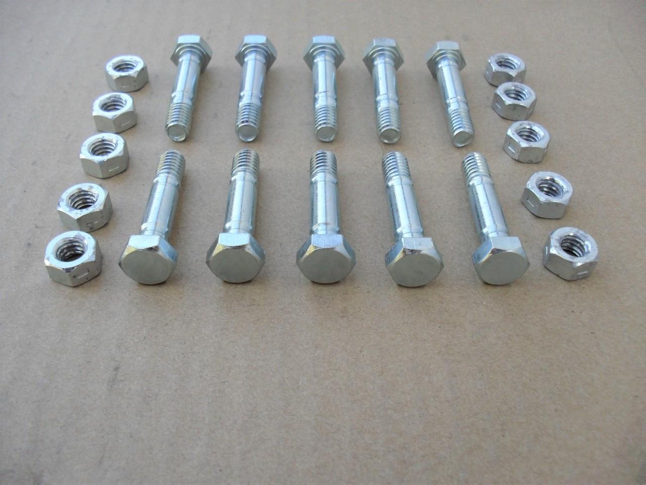 10 SHEAR PINS /& BOLTS fit Cub Cadet 724TE 724WE 826SWE 926STE 926SE Snowblower