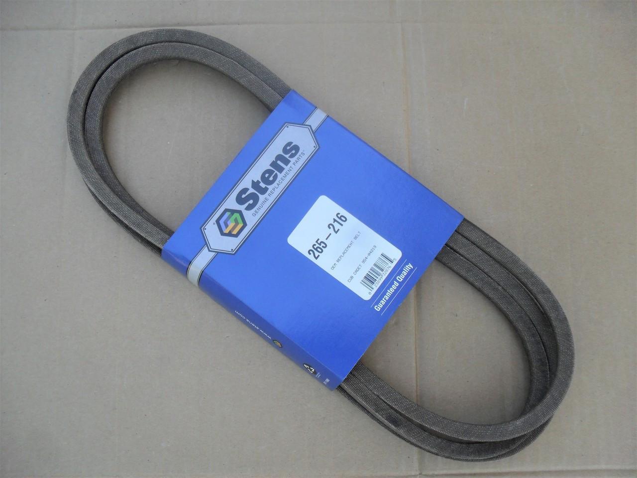 """Deck Belt for Craftsman T1600, LT2000, LT2500, 46"""" Cut 754-04219, 954-04219, Made In USA"""