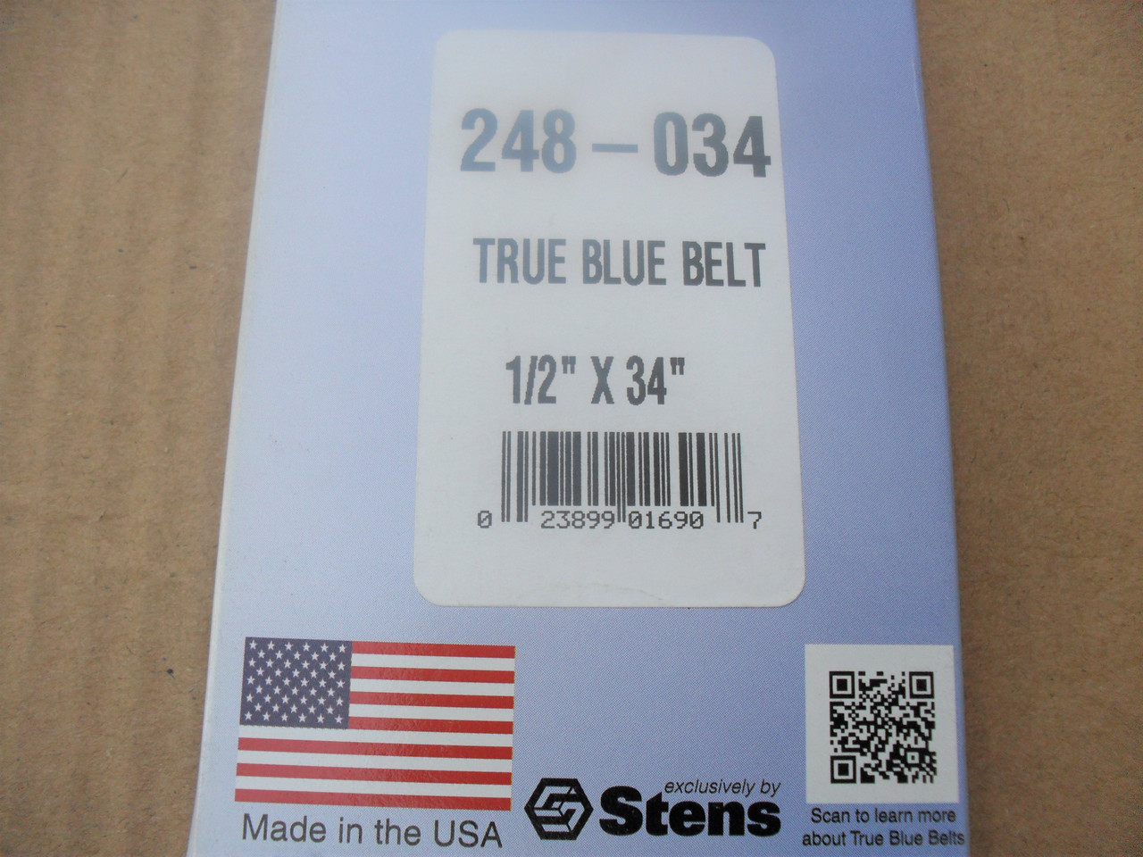 Belt for Sensation 153-801, 153801, 230836, Made in USA, Kevlar cord, Oil and heat resistant