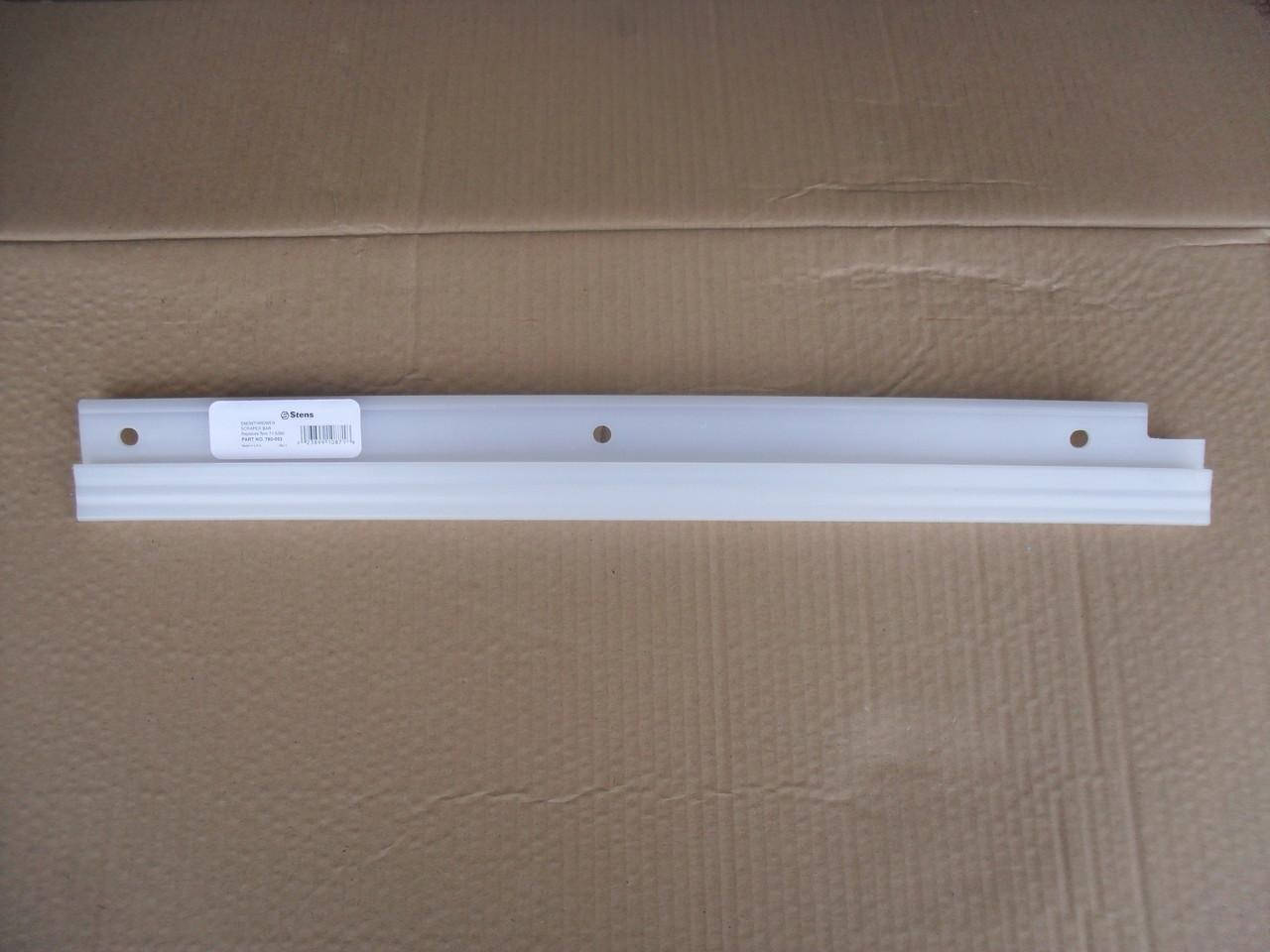 Scraper Bar for Lawn Boy 320R, 320E, 715390, 71-5390 Snowthrower, Made In USA, snowblower, snow thrower blower, lawnboy