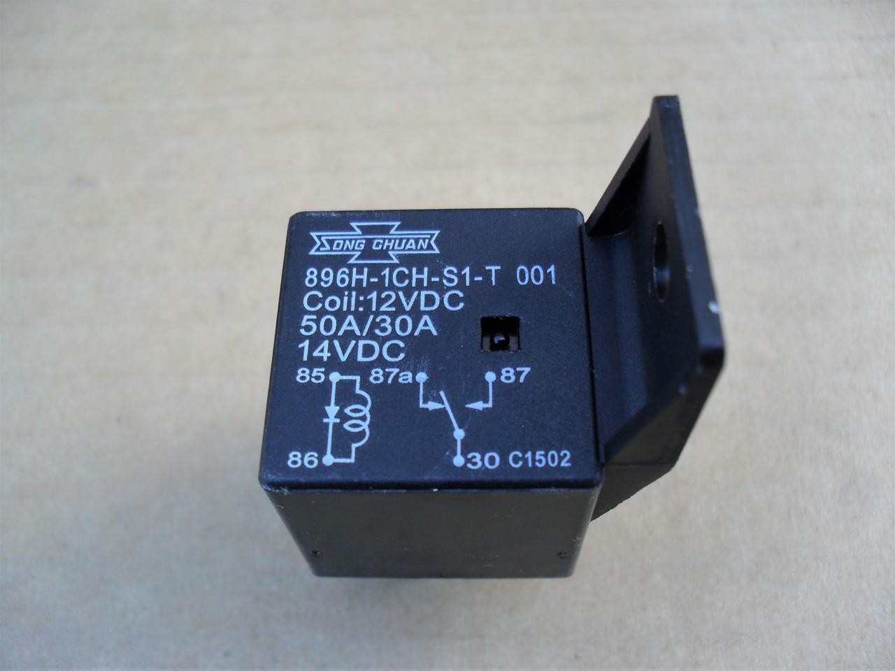Starter Relay for Toro Z Master, Dingo, Timecutter 987249, 98-7249