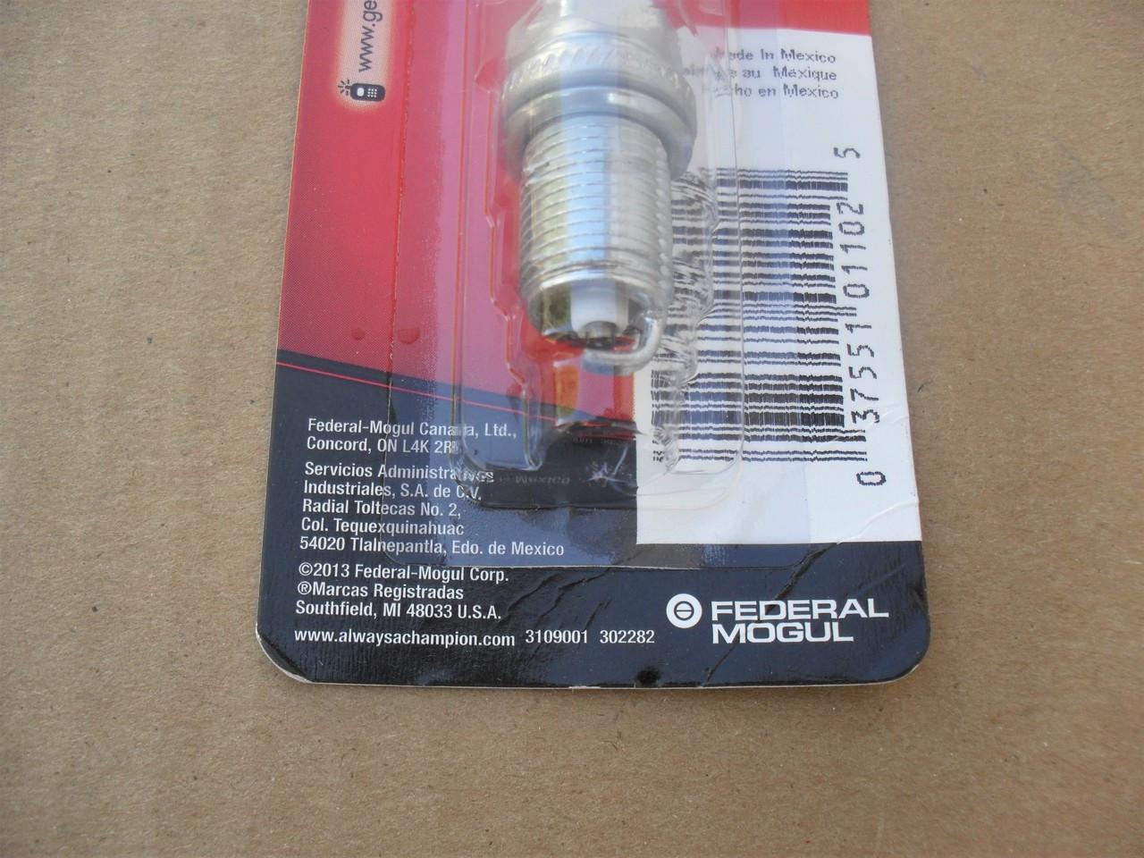 Spark Plug for Kohler Command 2413201S, 2513212S, 24 132 01-S, 25 132 12-S,  Champion