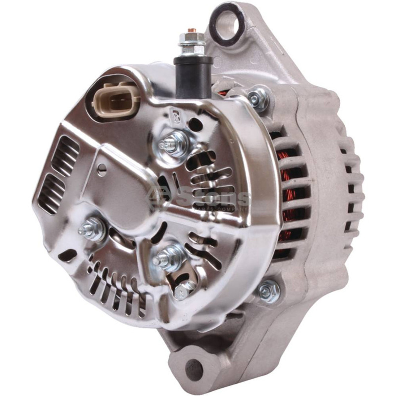 Alternator for Kubota RTV1100, RTV1100CR, RTV1100CR9, RTV1100CRX, RTV1100CW, RT1100CW9, RTV1100CWX, RTVX1100CR, RTVX1100CW, RTV1140CPX, K771161900, K771161901, K771161902, K7711-61900, K7711-61901, K7711-61902