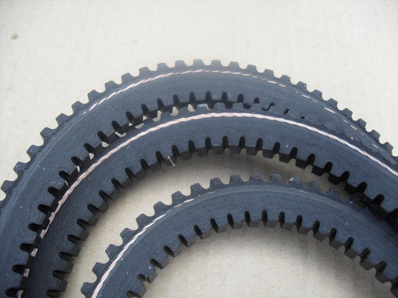 Deck Belt for John Deere LX255, LX277, LX279, LX288, LX277AWS, LX280, LX289, GT242, GT262, GT275, M118684, M143019, M144677 Made In USA