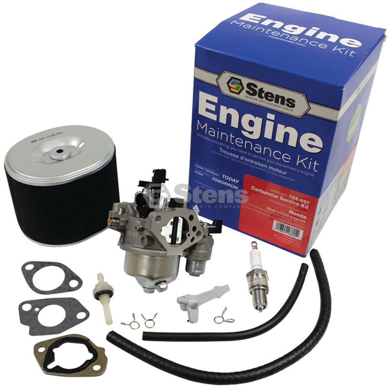 Details about  /Honda GX340 Carb Replace Honda Part Number 16100-ZE3-V01 Carburetor Fuel Filter