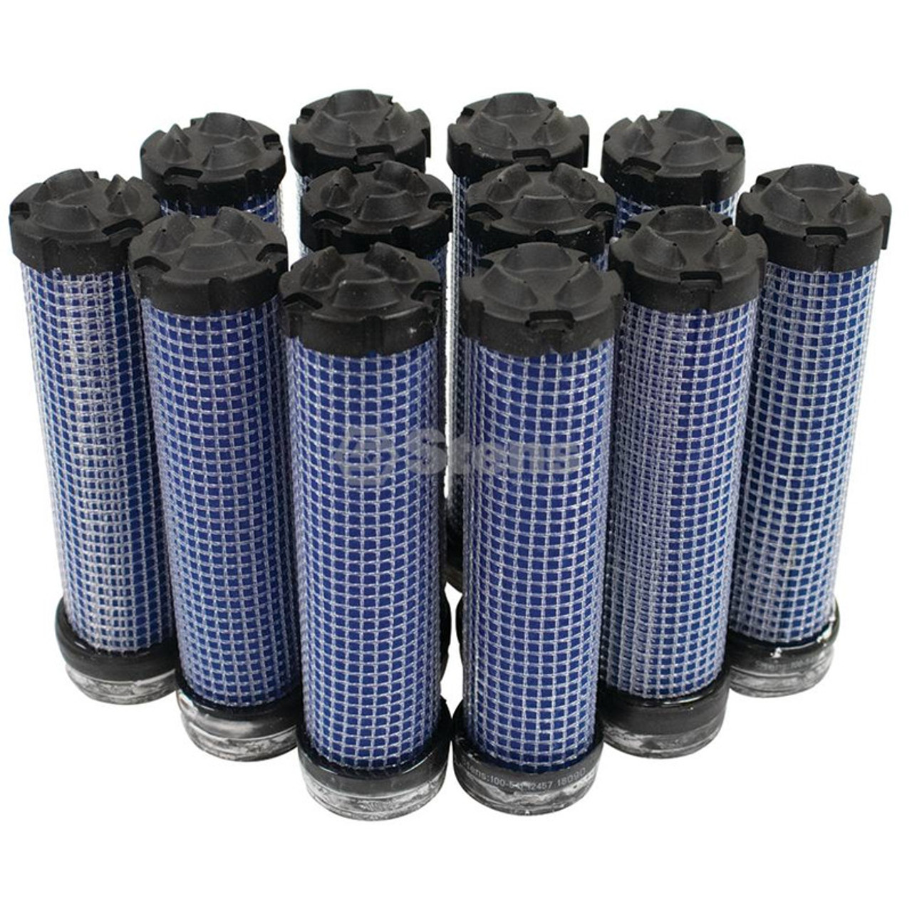 Inner Air Filter for Kubota K756182360, K7561-82360, Shop Pack of 12 Air Filters
