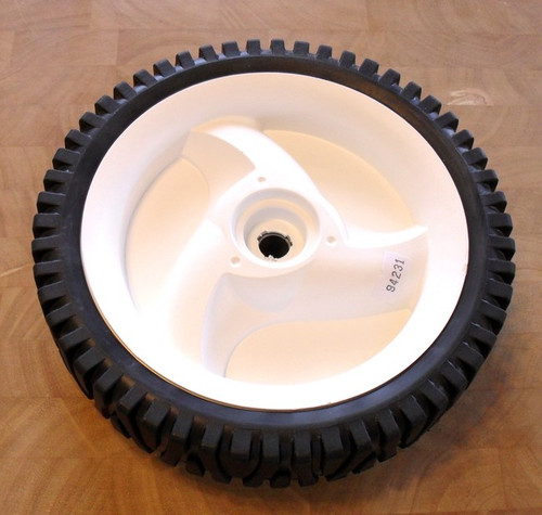 Self propelled front drive wheel tire for Craftsman, Poulan, Weedeater 194231X427, 94231