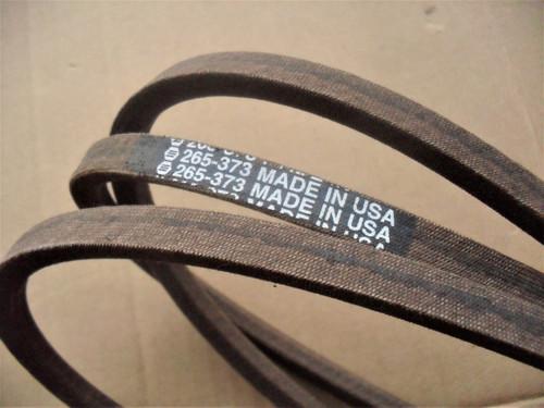 "Deck Belt for Country Clipper Jazee 42"" to 48"" Cut SR205, 210, 215, 215, 220, Jazee Pro, SR370, Charger 48"" Cut SR1000, D3727, D3727W, D-3727, D-3727-W"