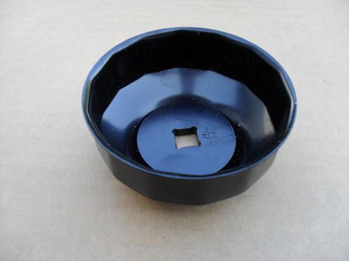 Oil Filter Wrench, 76 mm, 14 Flute, 750600