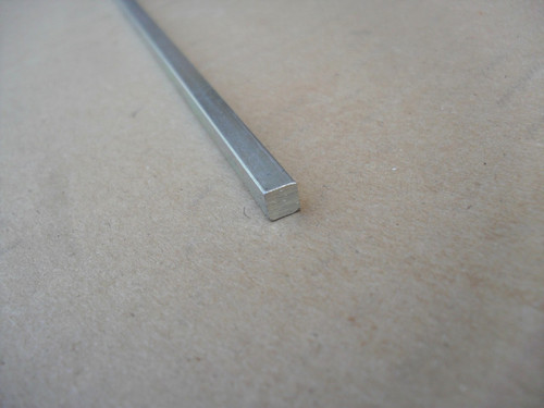 """Key Stock 1 foot long x 3/16"""" square for rear axle to wheel Jacobsen 182235"""