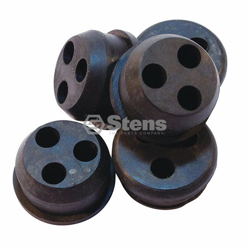 Rubber Grommet Bushing for Echo Gas Tank Fuel Line Hose SRM2510, SRM2410, GT2011, HCA2400, V137000030, 13211546710, String trimmer, Leaf Blower, Shop Pack of 5
