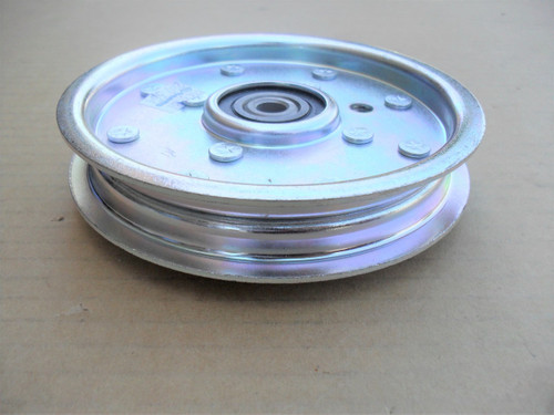 Idler Pulley for Great Dane Surfer, Chariot and Scamper D18044, GDA10032, Engine to pump idler pulley on all hydros
