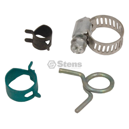 "Hose Clamps Shop Pack Case 1/4""-1/2"", 7/16"", 5/16"", 1/2"" 160 Pieces 415-170"