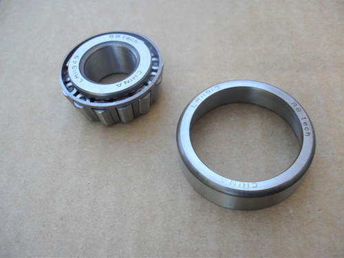 Bearing and Race for Cushman Truckster 385174, 548124, 548127, 808088, 808089, 815403