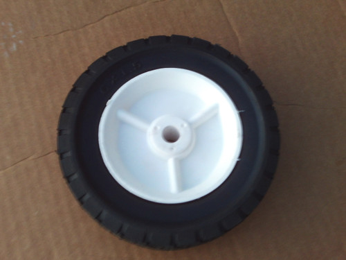 """Lawn Mower Wheel for AYP, Craftsman 583783601, STD333760, 6"""" tall, 1-1/2"""" Wide, Center hole 1/2"""""""