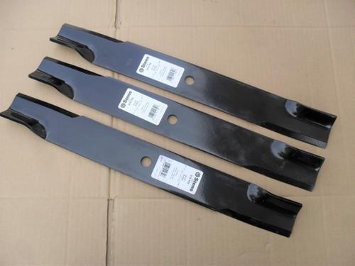 "60/"" Deck 090812 3 USA Mower Blades Hi Lift Gravely 89796 08898900 8979651"