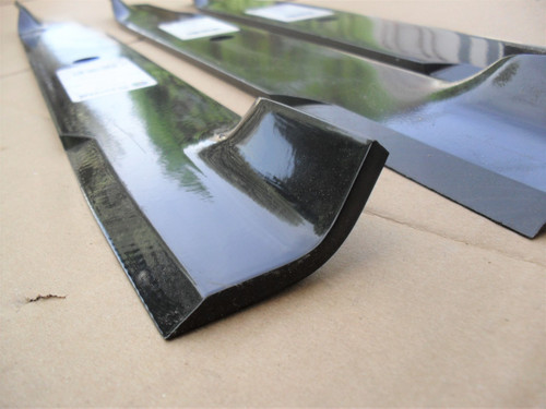 """Blades for Dixie Chopper 60"""" Cut 3022760, 3022760H, 3022760V, A6022760N, 30227-60, 30227-60H, 30227-60V, A60227-60N, Hi Lift Blade Set of 3 Made In USA"""