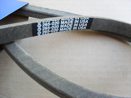 Drive Belt for John Deere 110, 110H, 112, 112H, 200, 208, 210, 212, 214 and 216, M44121, Made In USA