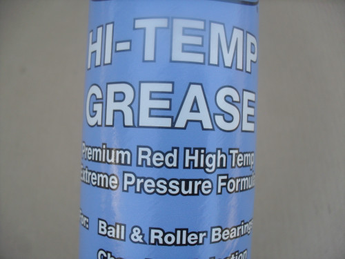 Hi Temperature Red Grease Tubes for Ariens, AYP, Craftsman, Gravely 00036700, 00929100, 6066J, Shop Pack of 10 Tubes, For Auto, Boats, Tractors, Wheel Bearing, Universal Joints, Ball Joints, Spindles, Made In USA