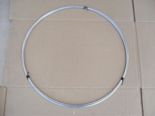 """Throttle Cable Inner Wire 100 ft Roll for Lawn Mower Size .058 """", 295-055"""