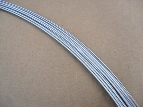 """Throttle Choke Cable Inner Wire 100 Foot Roll for lawn mower O.D. .070"""", 295-063"""