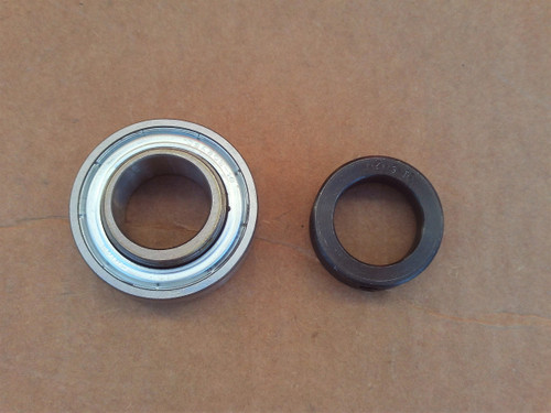 Bearing with Exmark Turf Tracer, Turf Ranger, Lazer Z, Metro 1513016, 1-513016 Includes Collar