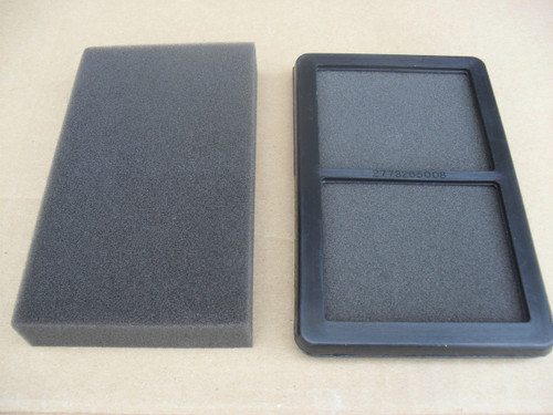 Air Filter for Subaru Robin EX13, EX17, EX21, 01404094, 2773265008, 2773265018, 2773266117, 0140-4094, 277-32650-08, 277-32650-18, 277-32661-17, Pre filter included