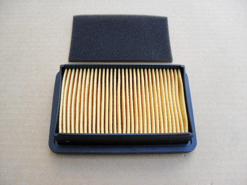 Air Filter for Subaru Robin EH36, EH41, 01404097, 2673260208, 2673260218, 2673261208, 2673266108, 2673266118, 0140-4097, 267-32602-08, 267-32602-18, 267-32612-08, 267-32661-08, 267-32661-18 Includes Pre Cleaner