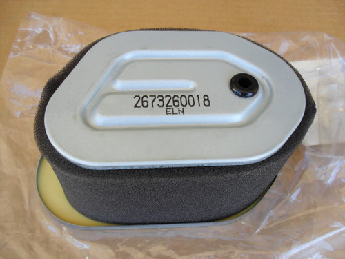 Air Filter for Subaru EH36 and EH41, 2673260018, 2673500301, 2673500311, 267-32600-18, 267-35003-01, 267-35003-11