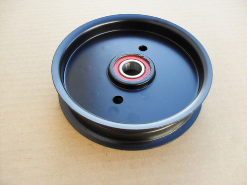 """Deck Idler Pulley for Exmark Lazer Z, Turf Tracer, 44"""", 48"""", 52"""" Cut, 1613098, 1-613098, Made In USA"""