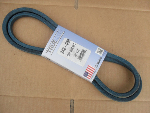 Belt for Mid States 754-245, 754-267, Made in USA, Kevlar cord, Oil and heat resistant