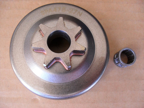 Clutch Drum with Bearing for Partner 350, 365 and 405 chainsaw sprocket