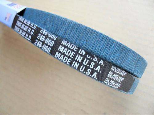 Belt for Gilson 13560, 16711, 17518, 4825, Made in USA, Kevlar cord, Oil and heat resistant
