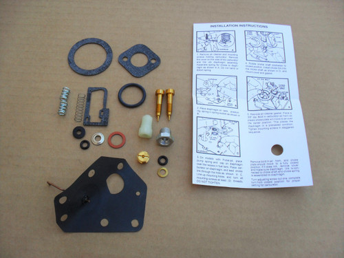 Carburetor Rebuild Kit for Briggs and Stratton 7 HP, 8 HP