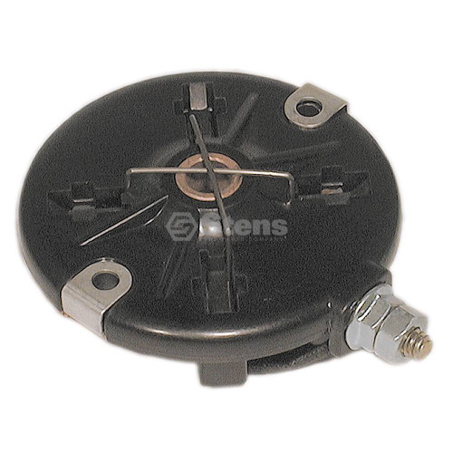 Electric Starter End Cap for Briggs and Stratton 395537, brush retainer with brushes &