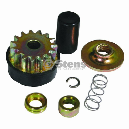 Metal Starter Drive Gear for Briggs & Stratton Electric Starter 496881 Rebuild Kit and