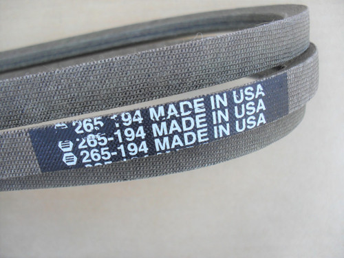 Deck Belt for MTD 13AT605H718 and 13AX605H744, 754-04122, 954-04122, 954-5834, Made In USA