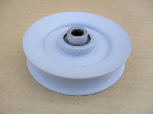 "Idler Pulley for Noma 10702, 45074, Height: 3/4 "" ID: 3/8 "" OD: 3 "" Made In USA"