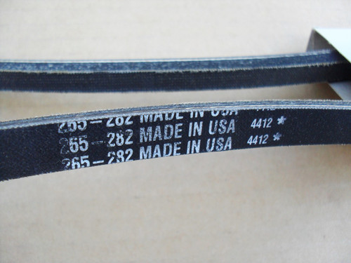 Starter Generator Belt for Yamaha G2, G3, G5, G8, G9, G11, G14, G29, J55H117300, J55-H1173-00 golf cart, Made In USA