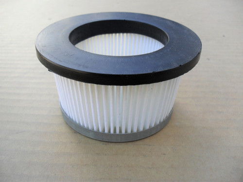 Air Filter for Tecumseh H30, H35, H50, H60, H70, HS40, HH60, HH70, V60, V70, TVM140 and Troy Bilt Roto Tiller 2.5 HP to 8 HP, 30727