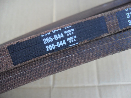 Deck Belt for Grasshopper 3452, 9852, 382084, Made In USA