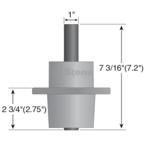 Deck Spindle for Wright Mfg Stander, 71460007