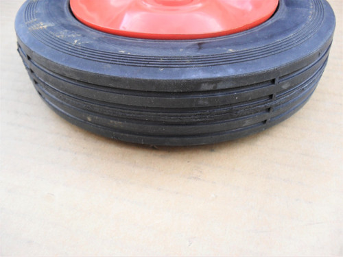 "Edger Wheel for Mclane, 6"" Tall Solid Tire, 20166, 2016-6, Made In USA"